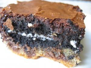 slice Slutty Brownie