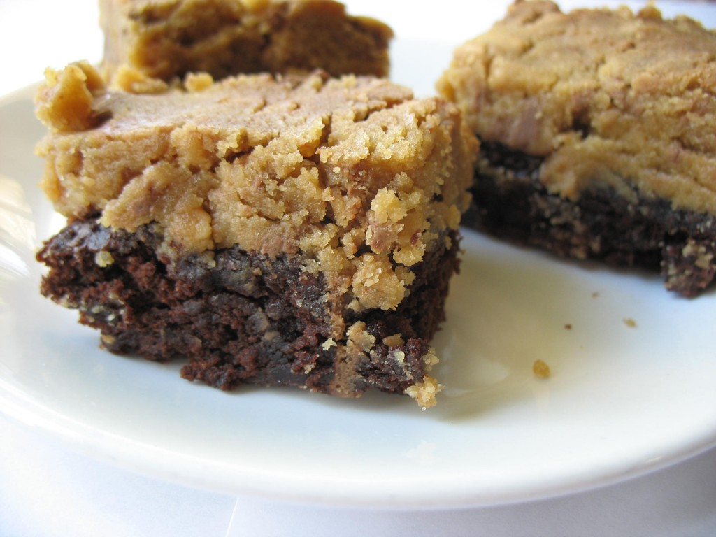 OMT's Toffee Bits Cookie Dough Brownies