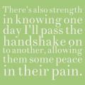 Grandparent's Secret Handshake