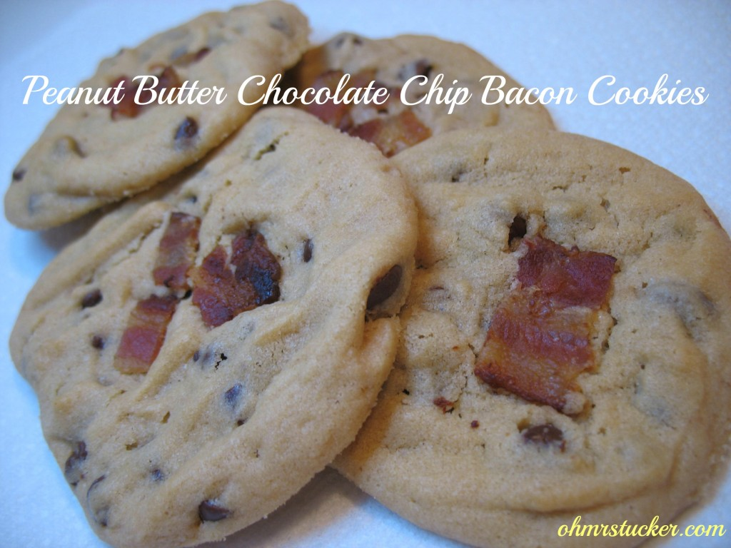 peanut butter chocolate chip bacon cookies!