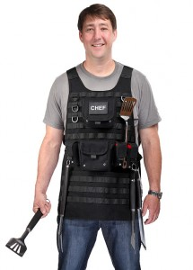 Father's Day Tactical BBQ Apron