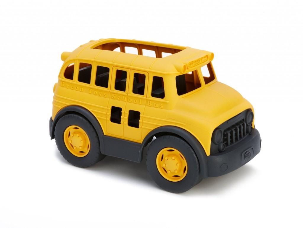 green-toy-bus