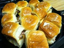Slow-Smoked Pork Rib Sliders