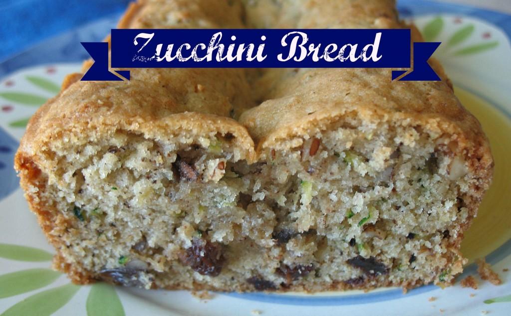 Zucchini Bread Done Right