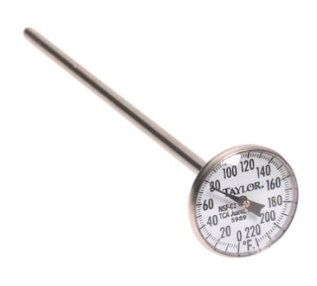 quick-read meat thermometer