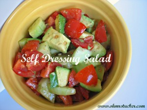 Self-Dressing Salad of Your Dreams