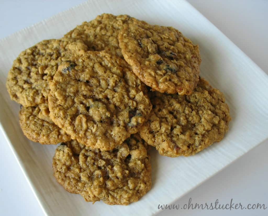 Perfect Oatmeal Cookies