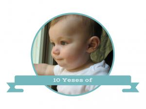10 Yeses of Grandparenthood