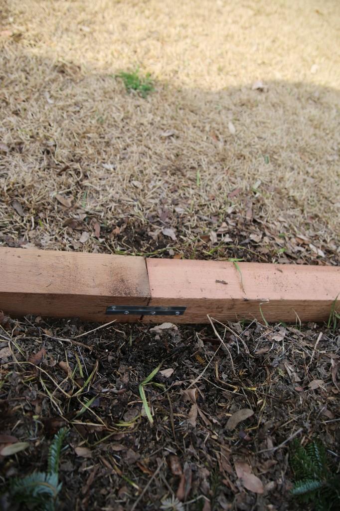 Easiest DIY Cedar Flower Bed You'll Ever Build