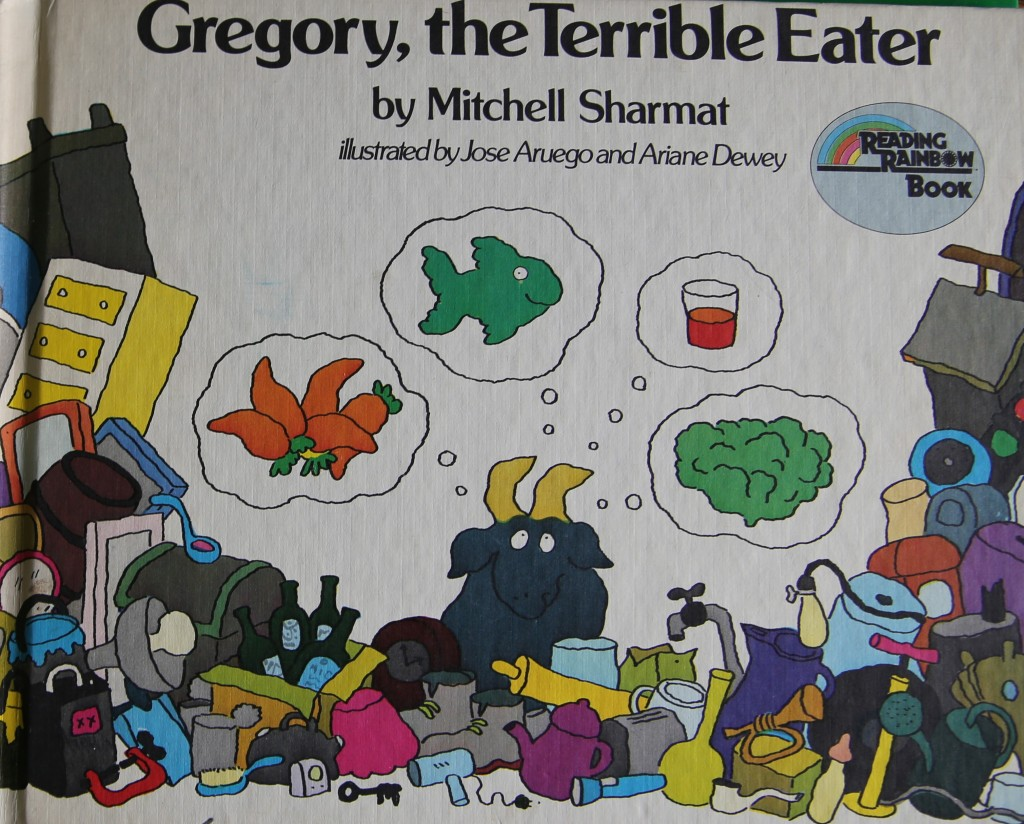 Book Fun: Gregory, the Terrible Eater