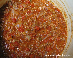 Easy Homemade Meat Sauce for Pasta