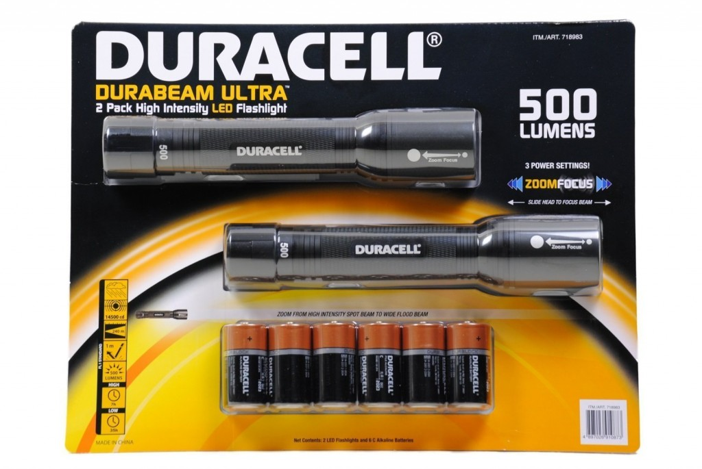 Best Flashlight I've Ever Owned = Duracell Durabeam Ultra