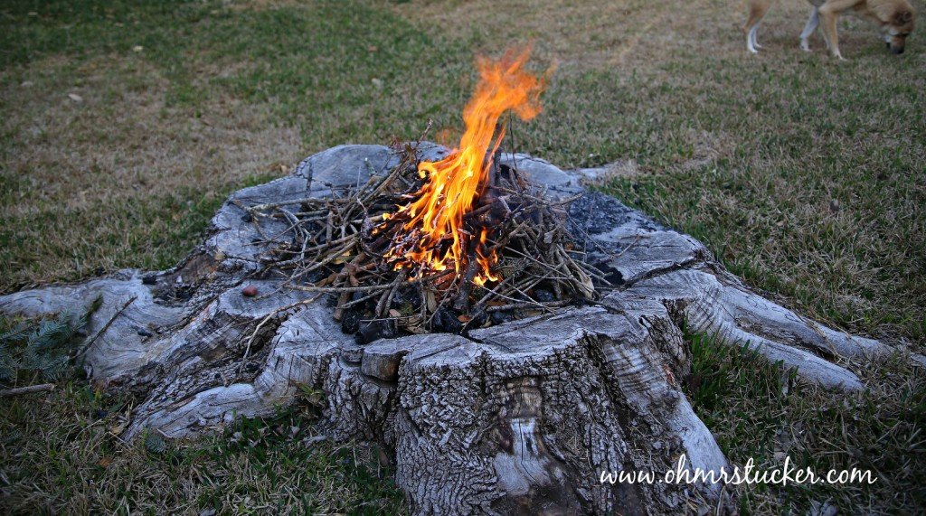 DIY Fire Pit Tutorial: Updated