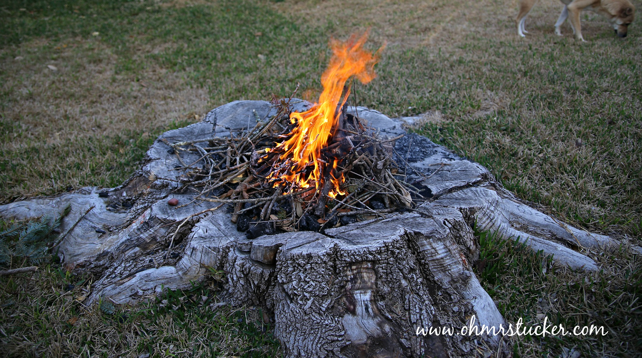 Diy Fire Pit Tutorial Updated