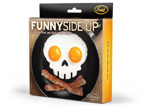 Skull Egg Mold. Fun!