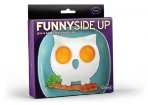 Owl-Shaped Egg Mold