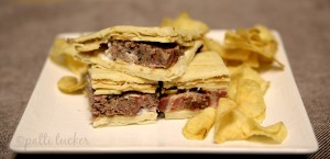 Meatloaf Quesadillas