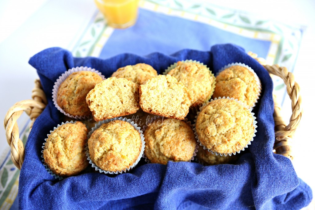 Orange Honey Muffins