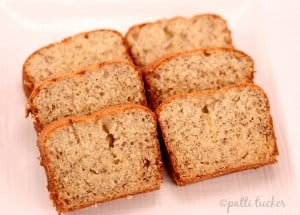 slices of Sour Cream Banana Bread