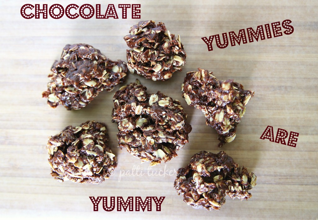 No Bake Chocolate Yummies