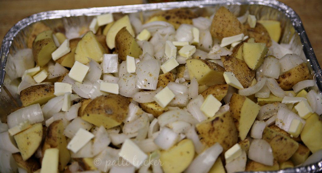 Easy Grilled Potatoes and Onion