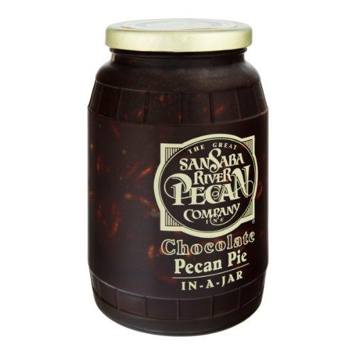 Chocolate Pecan Pie in a Jar