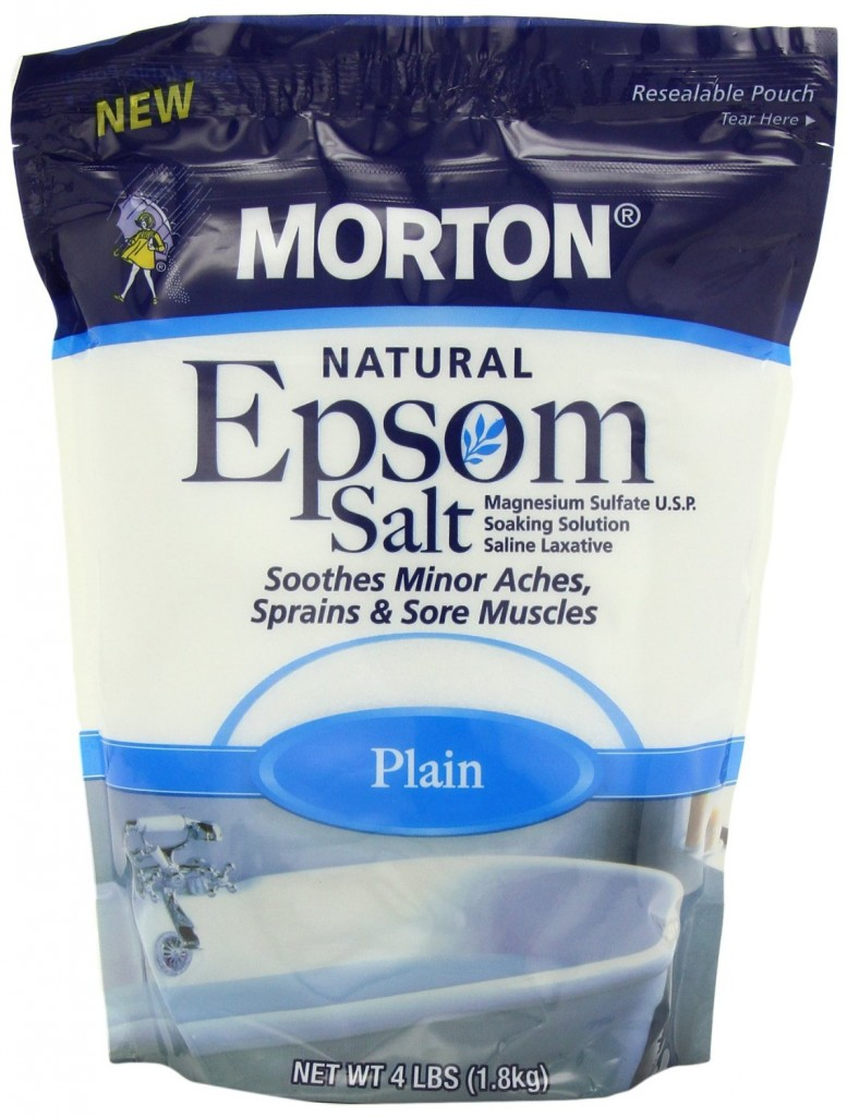 Epsom Salt to Ease Muscles