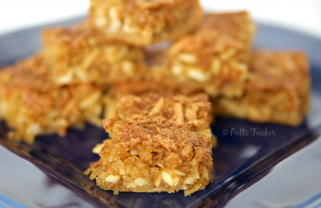 Coconut Almond Dream Bars