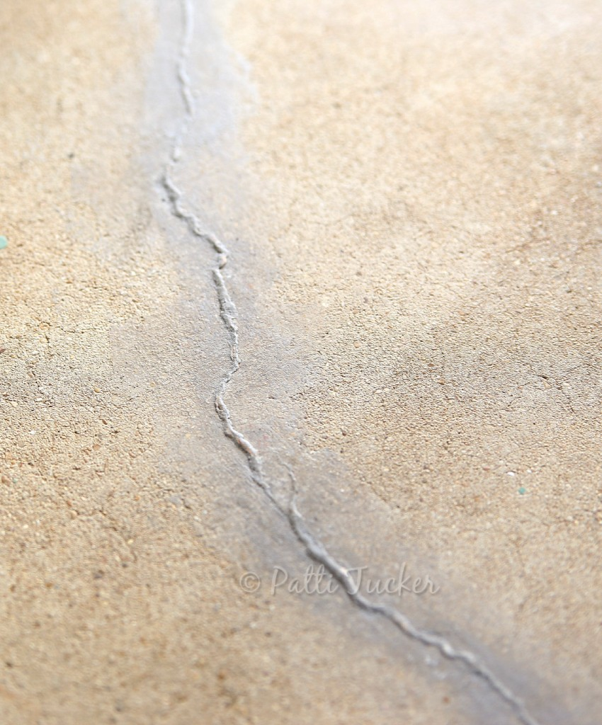 DIY Concrete Small Crack Repair