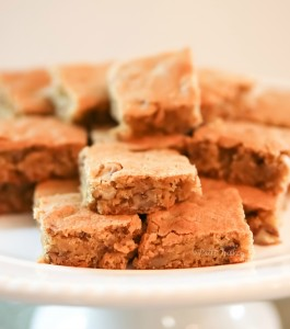Brown Sugar Butter Bars