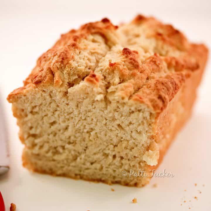 cut loaf beer bread