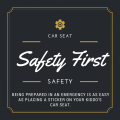 PSA of the Day: Car Seat Safety Sticker