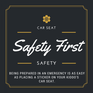 PSA of the Day: Car Seat Safety Stickers