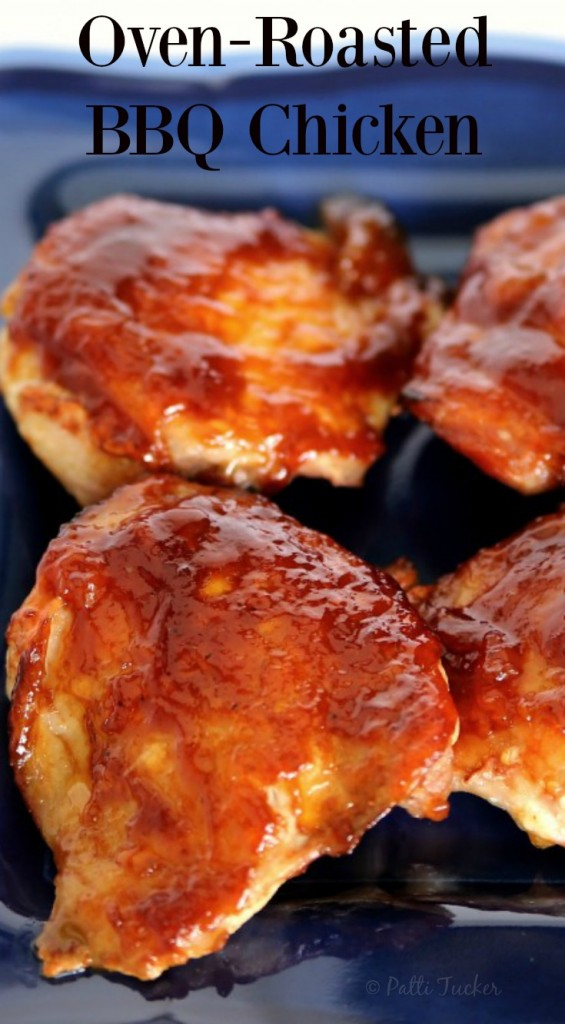 Oven-Roasted BBQ Chicken