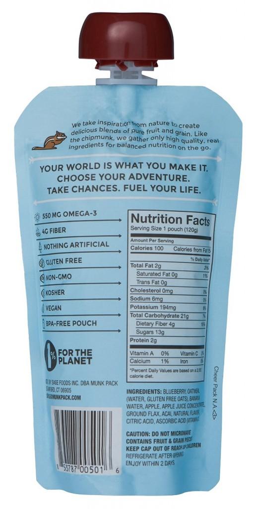 Oatmeal in a Pouch: Suck It!