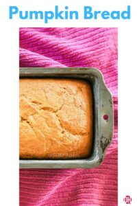 pumpkin bread graphic