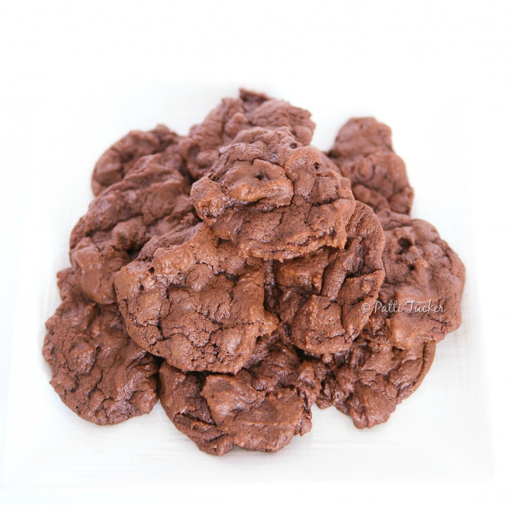 Chocolate Bomb Buttermilk Cookies