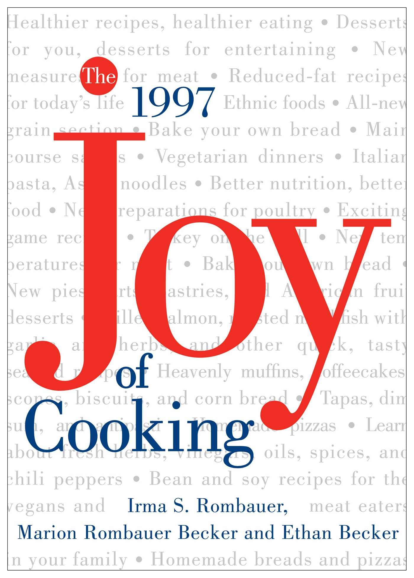 My Joy of Cooking
