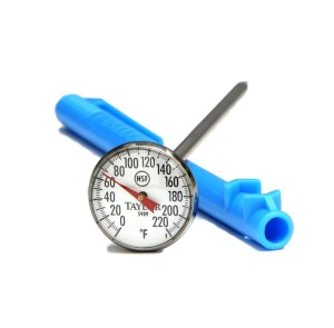 Using a Quick-Read Meat Thermometer When Grilling Outdoors