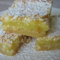Fresh, crisp, perfect for your non-chocolate lovers: Paula Deen's Lemon Bars #lemonbars #pauladeen #desserts #ohmrstucker
