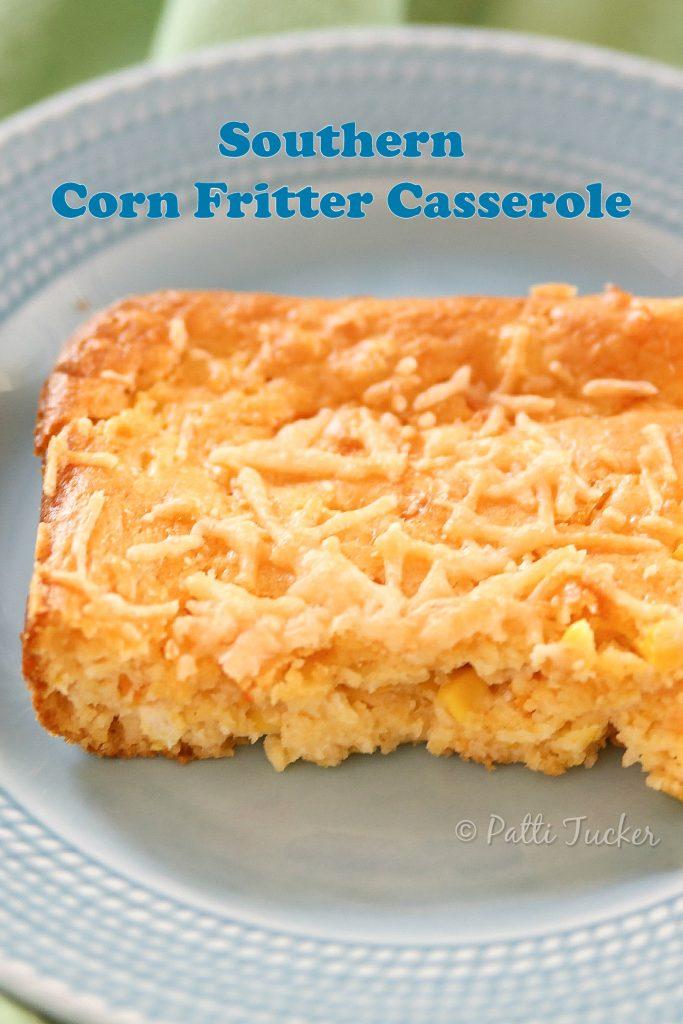 Corn Fritter Casserole