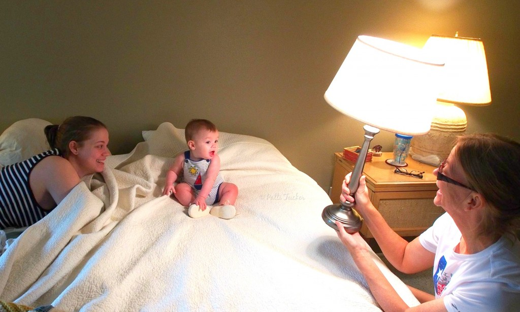 The truth of baby photo-shoots