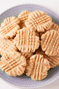 Natural Peanut Butter Peanut Butter Cookies