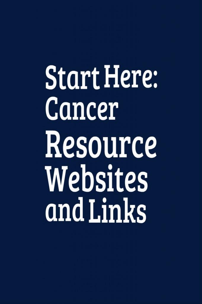 Cancer Resource Websites and Links