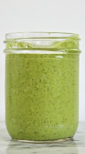 Fresh Homemade Jalapeno Avocado Dressing
