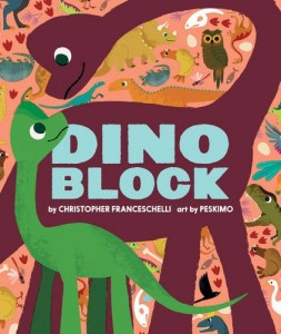 Dino Block Book for Toddlers