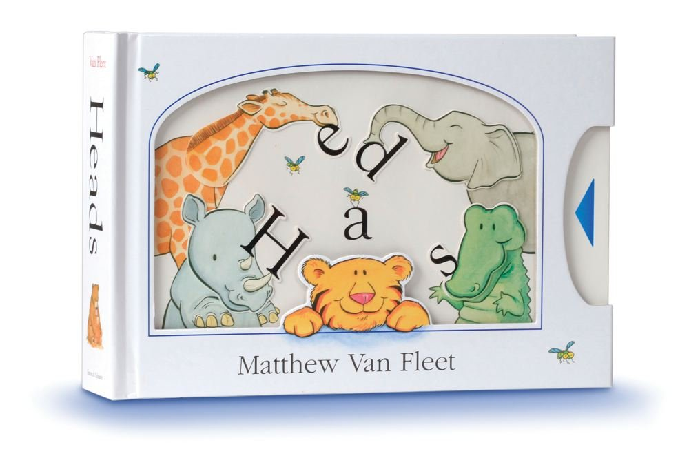 Heads: Multi-Sensory Books For Toddlers