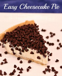 Easy Cheesecake Pie