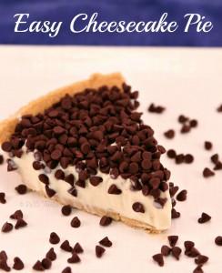 Easy Peasy Cheesecake Pie!