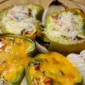 Baked Peppers with a Twist
